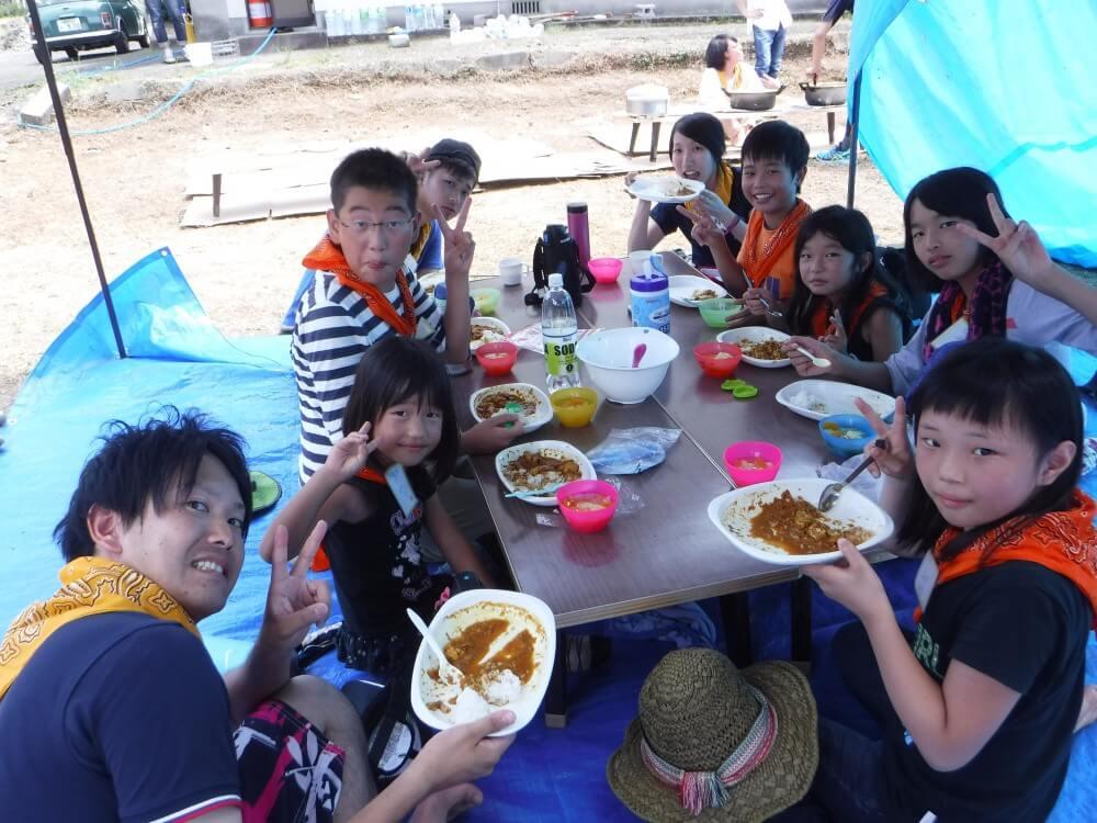 焼いて、食べて、楽しもう☆DIC焼き芋会2月13日 2016