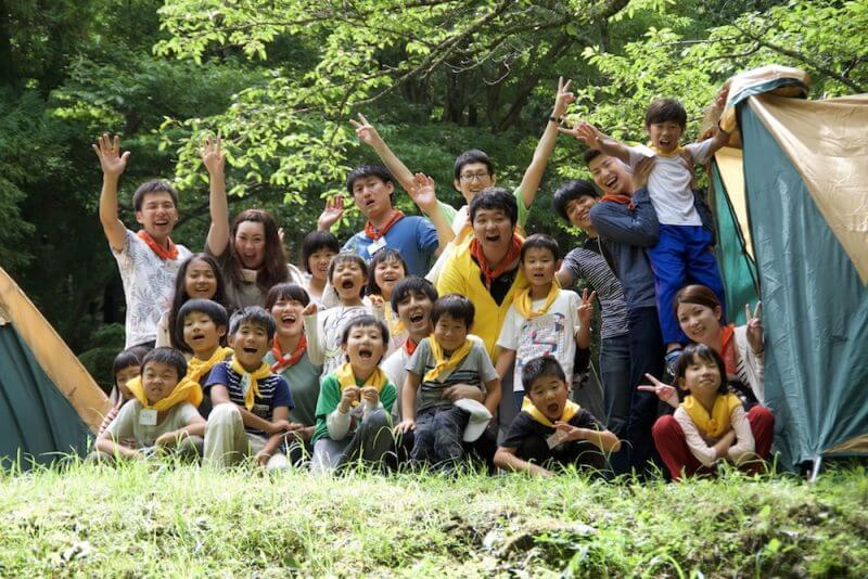 久留米市田主丸でDICチャレンジキャンプを開催しました(2018.06.30〜2018.0701)