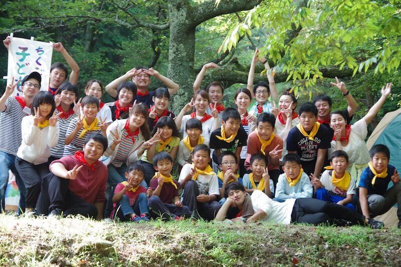 DIC子どもキャンプを8月4日・5日に福岡久留米市田主丸で開催しました