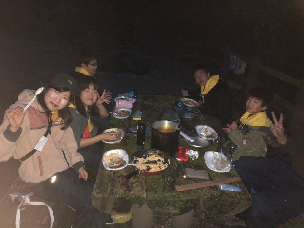 福岡久留米キャンプカレー子ども