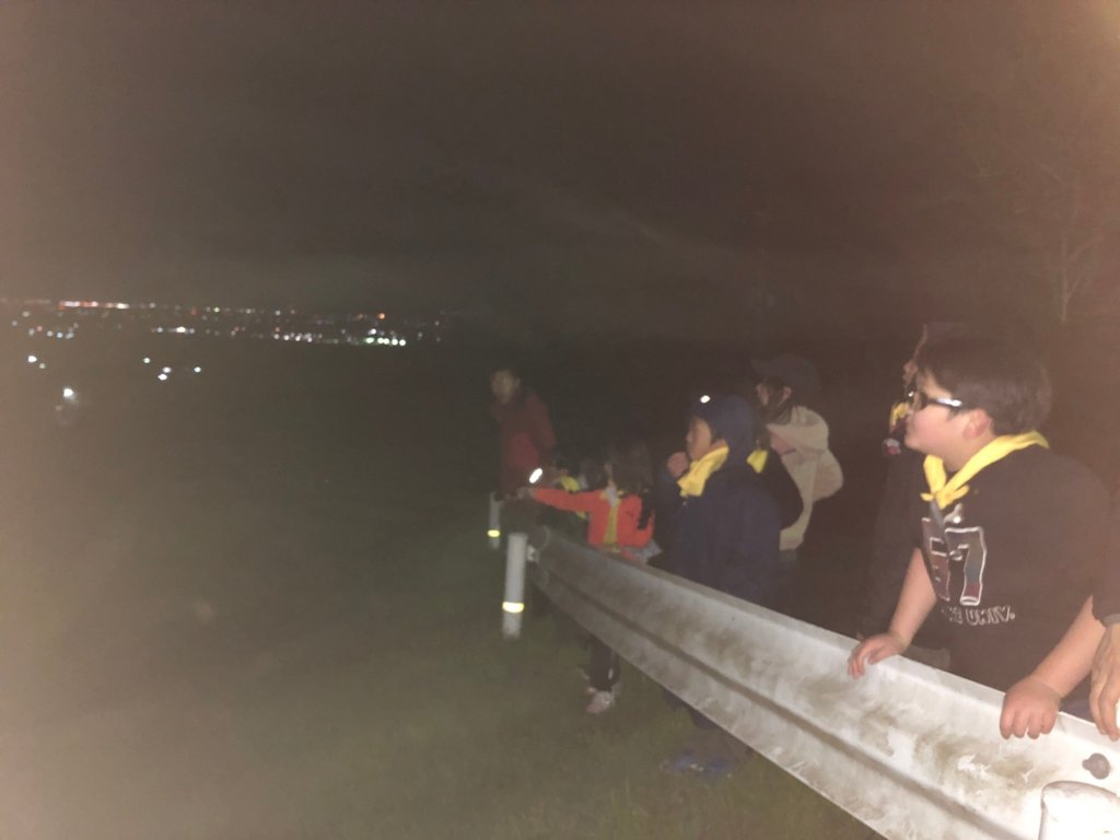久留米キャンプ夜景